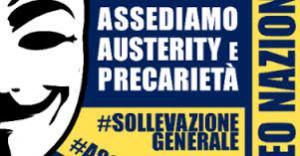 il manifesto di convocazione per il corteo del 19 Ottobre