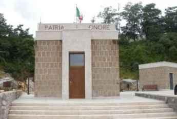 il mausoleo dedicato a Rodolfo Graziani