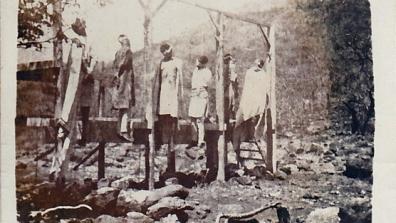 """alcuni prigionieri di guerra  di Debra Libanos, passati per le """"cure"""" di Graziani"""